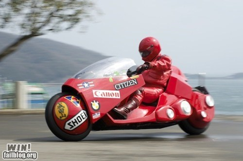 Akira bike custom kaneda motorcycle nerdgasm - 6097899008