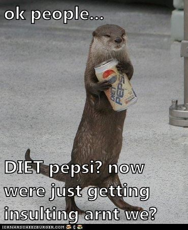 annoyed diet hint insulting otter weight - 6098271488
