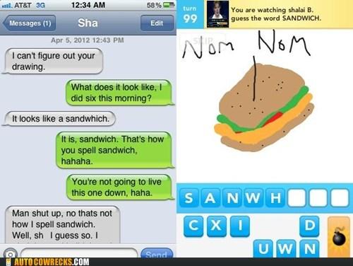 nom nom sandwich sound it out spelling mistakes - 6098472960