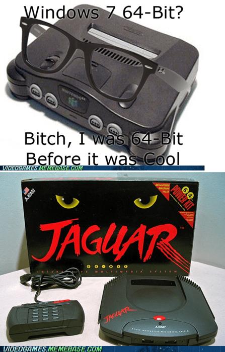 64 bit atari jaguar meme terrible worst controller - 6098640384