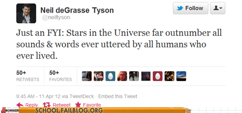 Neil deGrasse Tyson,science,stars in the universe,words