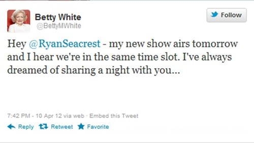 betty white,twitter