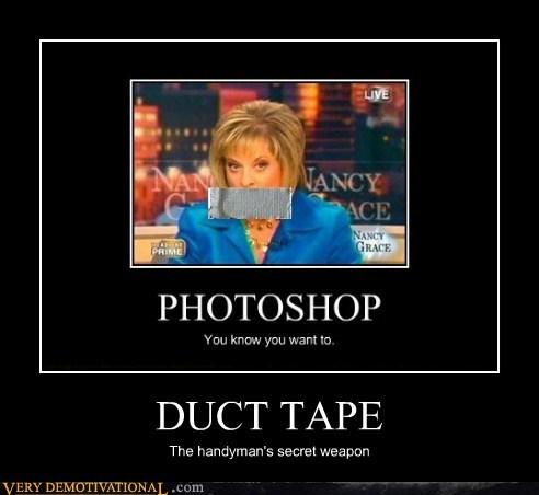 duct tape hilarious Nancy Grace wtf - 6098968064