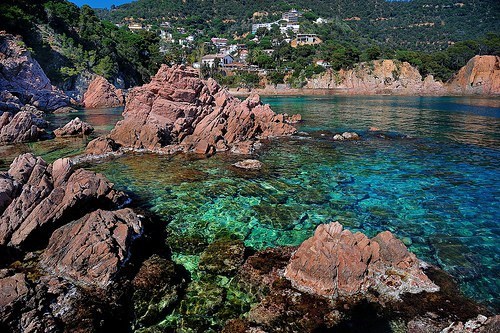 Hall of Fame,ocean,rocks,Spain