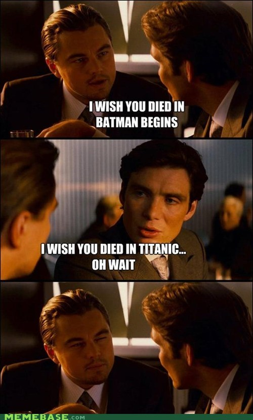 batman begins From the Movies Inception leonardo dicaprio movies titanic - 6099045376