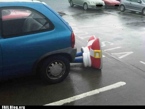 cars crash sonic wtf - 6099083520