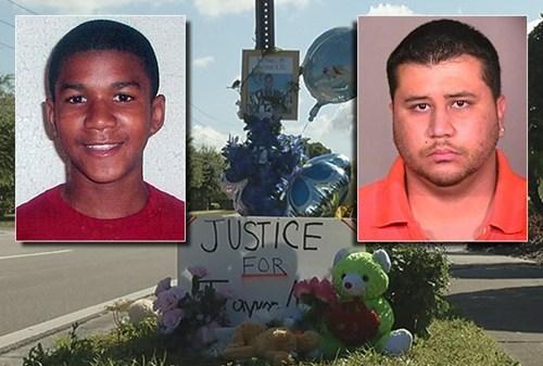 George Zimmerman Trayvon Martin - 6099219456