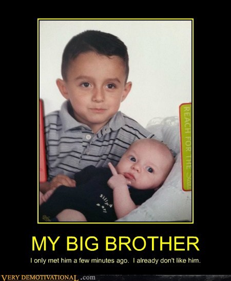 baby big brother dont-like hilarious - 6099262208