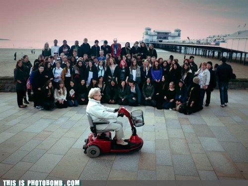 hoverround Moment Of Win old-guylady picture time slowmo wheelchair - 6099694592