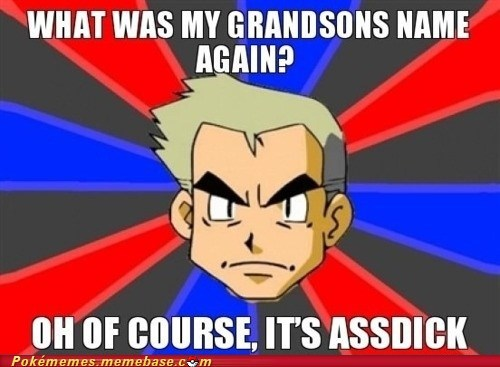 everyone did it grandson meme Memes oak Pokémemes vulgar - 6099828992
