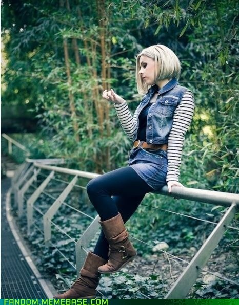 android 18 c-18 cosplay Dragon Ball Z dragon ball - 6099830784