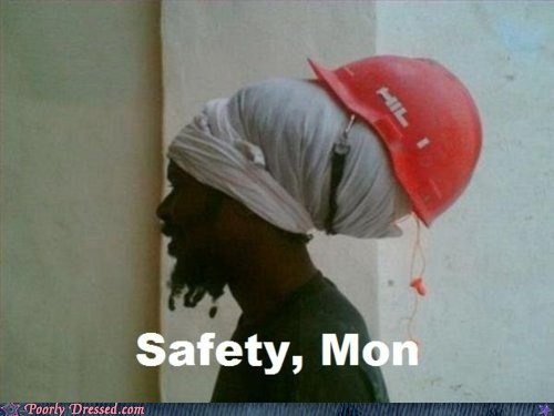 construction dreads helmet rasta safety