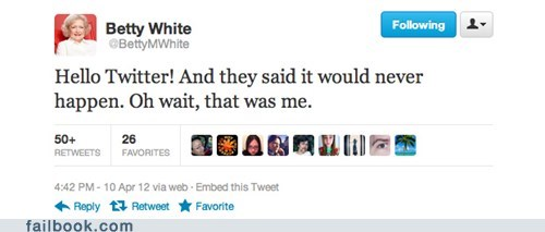 betty white,celeb,twitter