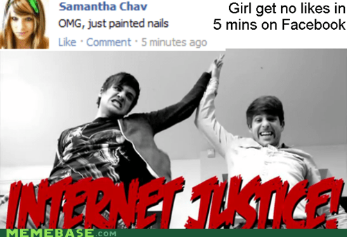 facebook,girl,Internet Justice,likes,nails,smosh,Text Stuffs