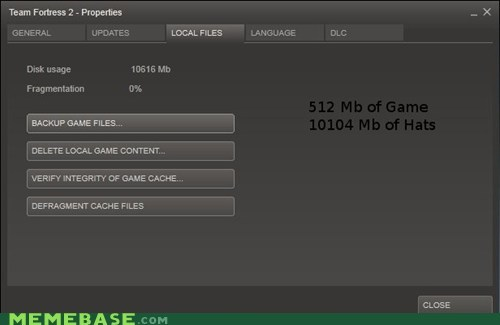 file size,more hats,PC,properties,Team Fortress 2