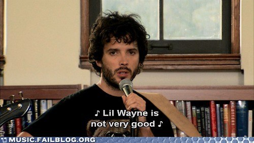 flight of the concords,lil wayne,screencap,TV