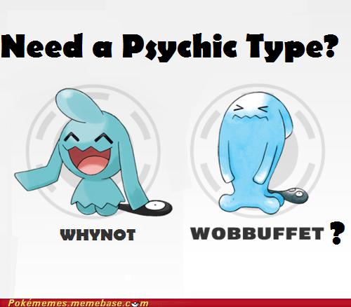 meme Memes psychic type why not zoidberg wobbuffet wynaut - 6100711680