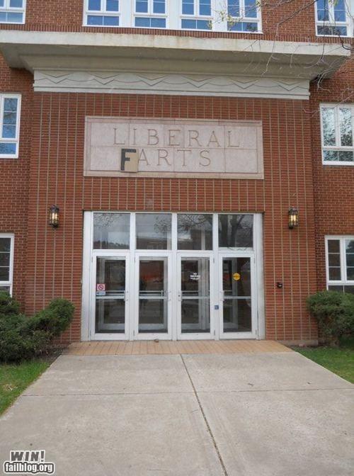 college hacked irl liberal arts prank school - 6100791040