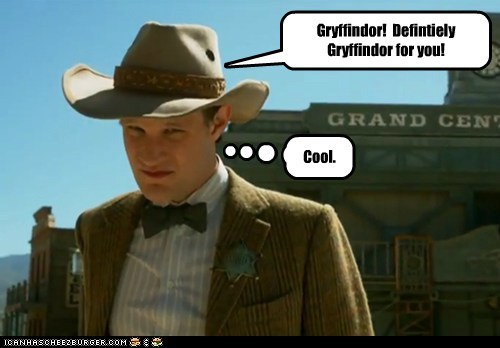 Gryffindor! Defintiely Gryffindor for you! Cool.