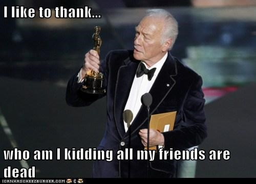 actor celeb christopher plummer funny oscars - 6100964352