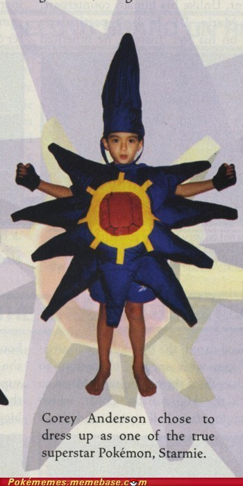 awesome costume dressup i want to bad IRL kids Starmie - 6101648384