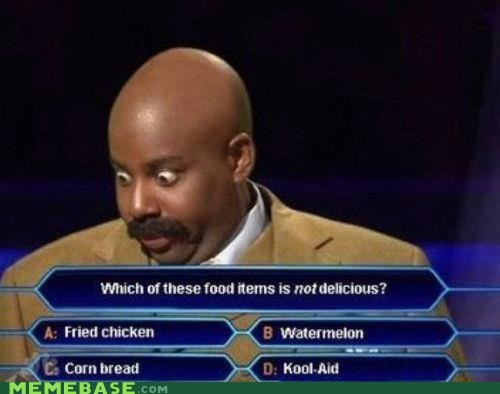 delicious,racism,who wants to be a millionaire