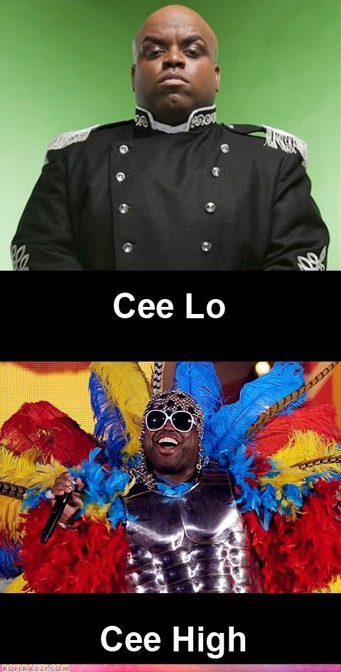 cee lo,celeb,funny,Music,pun,rap