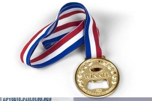 bottle opener gold medal medal - 6103442688