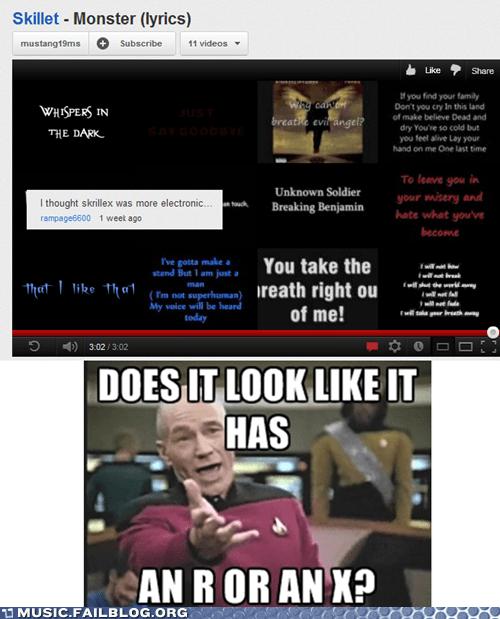 christian rock comments dubstep skrillex Star Trek youtube youtube comments - 6103532288