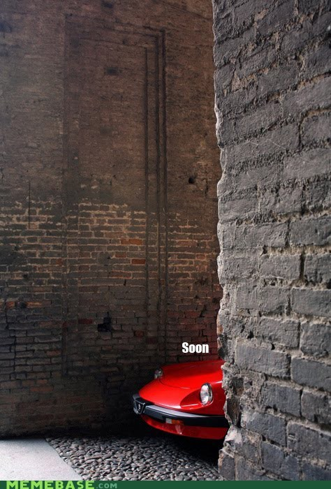 buick,car,devil,SOON,wall