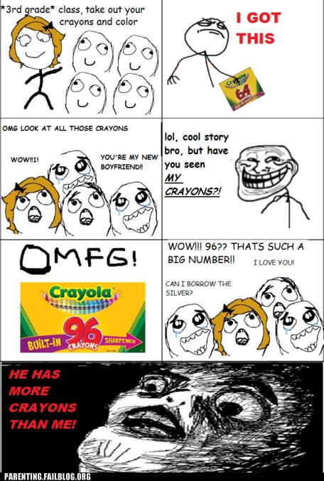 crayons school - 6103736064