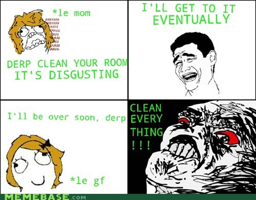 cleaning Rage Comics raisin rage relationships - 6103856384