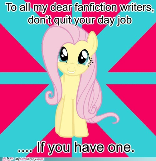 fanfiction fluttershy meme writers - 6103865088