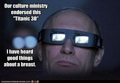 political pictures,titanic,Vladimir Putin