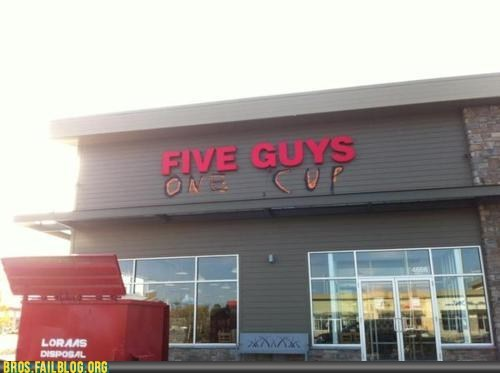 five guys hacked irl one cup two girls one cup - 6103958016