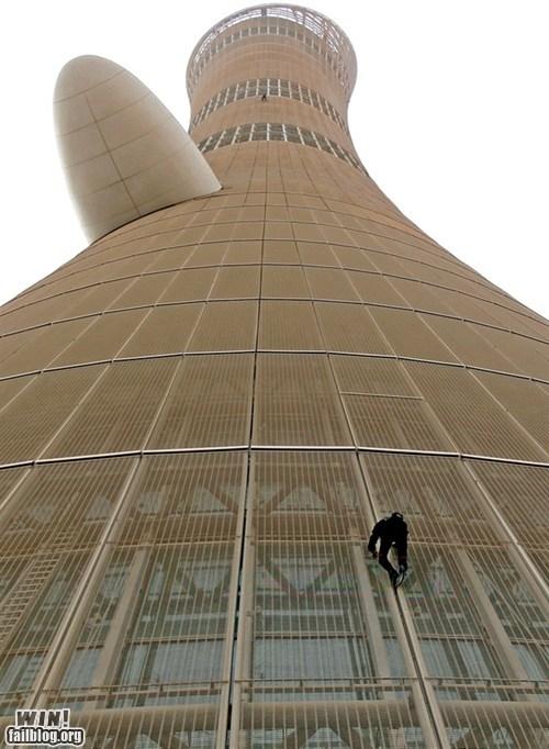 climbing dont-look-down heights vertigo - 6104039424