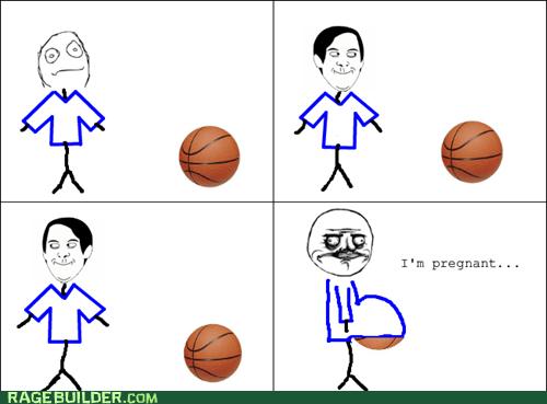 basketball me gusta pregnancy Rage Comics - 6104069120