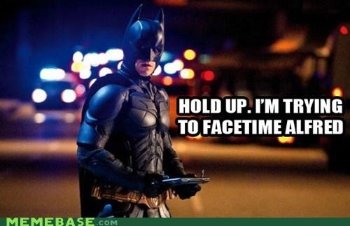 alfred batman facetime Super-Lols timeout - 6104107776