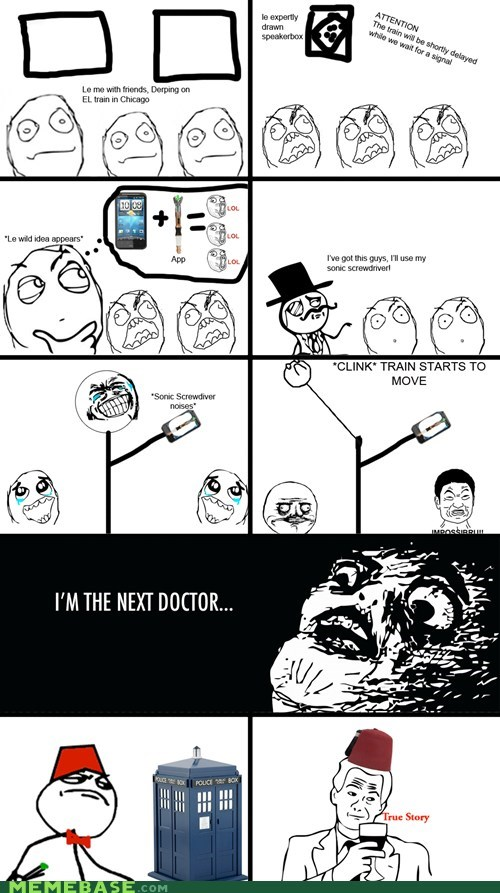 doctor who sir Rage Comics raisin face - 6104128256