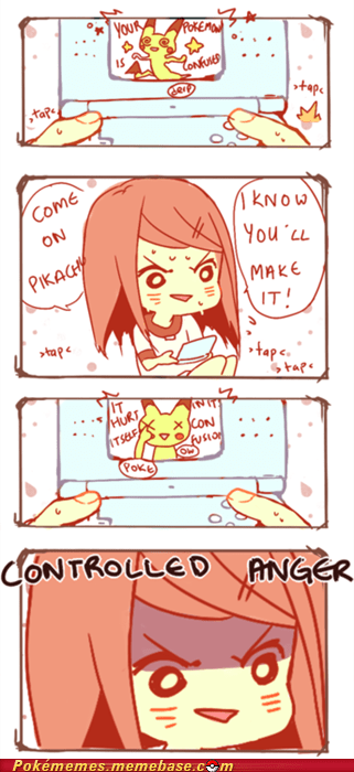 comic confusion controlled anger dilemma pikachu - 6104199424