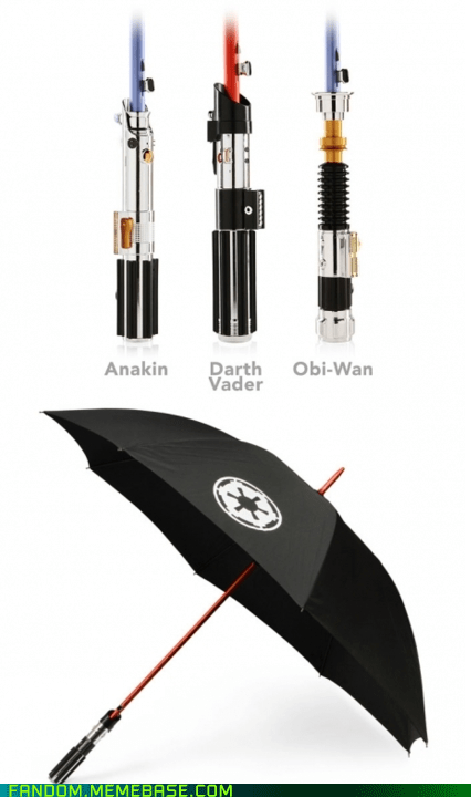 It Came From the Interwebz lightsaber scifi star wars umbrella - 6104241408