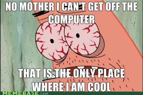 computer internet mom pushing patrick - 6104263424