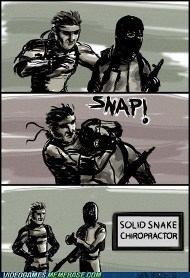 adjustment chiropractos comic new business snap solid snake - 6104312064