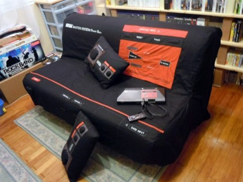 8 bit,furniture,gaming,sega master system,sofa