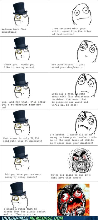 fuuu,merchants,rage comic,RPGs
