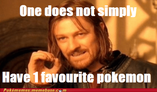 evolution,favorite pokemon,meme,Memes,one does not simply