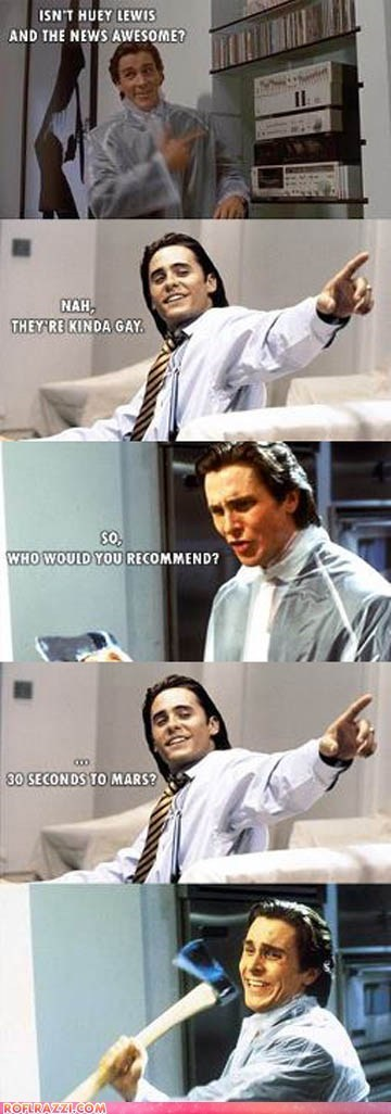 actor celeb christian bale comic funny jared leto - 6104546304