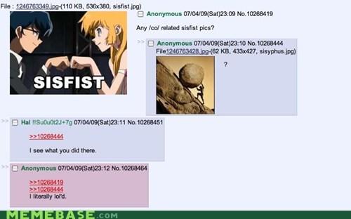4chan greek Memes mythology sistah sisyphus - 6104608000