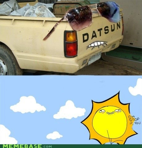 Dat Ash,dat ass,glasses,sun,truck