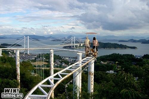 biking coaster roller coaster whee - 6104669440